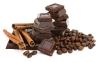 Chocolate,cinnamon and coffee beans.