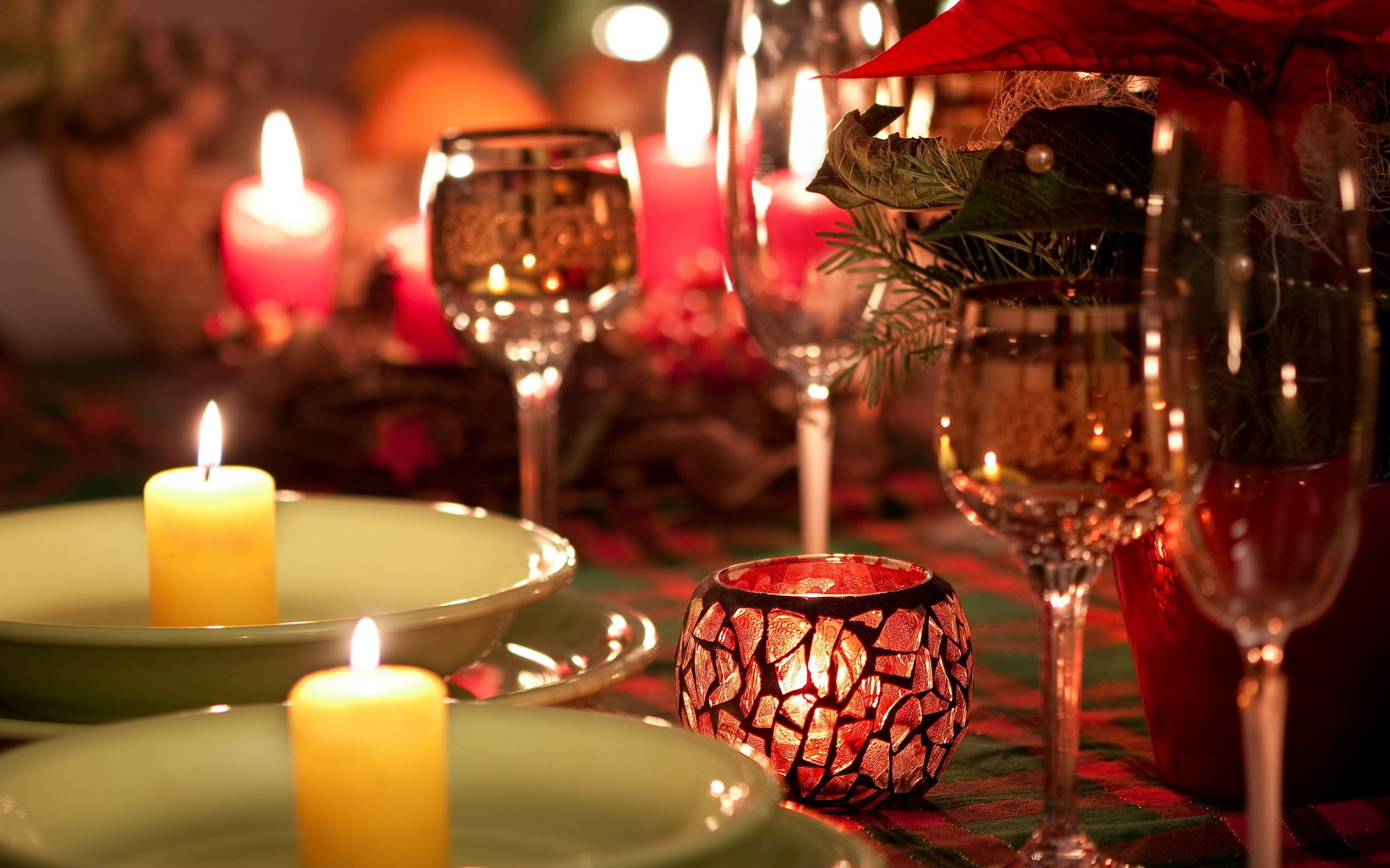Christmas Candle HD Wallpapers