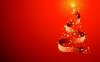 Christmas Tree Desktop HD Wallpaper