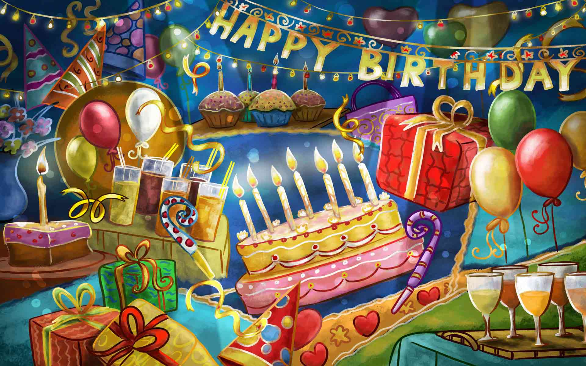 Happy Birthday HD Pictures and Wallpapers