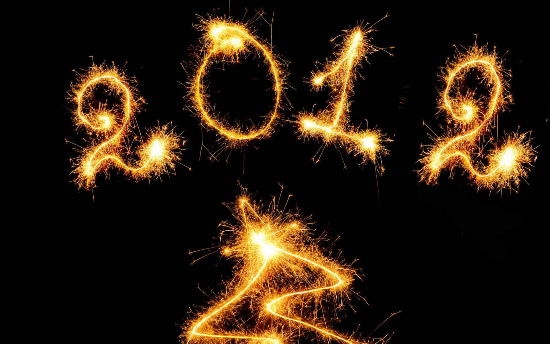 Happy New Year 2012 HD Wallpaper