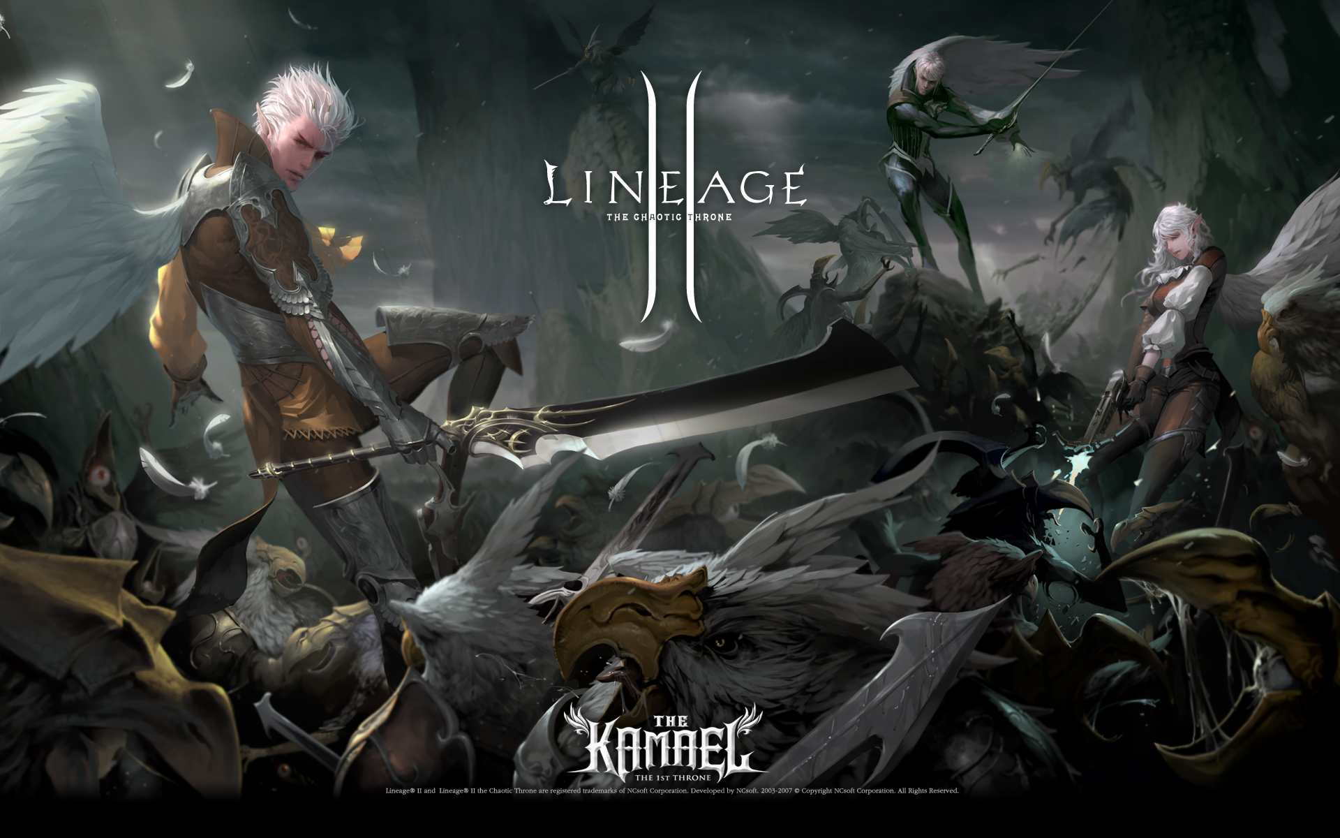Lineage II HD Pictures and Wallpapers