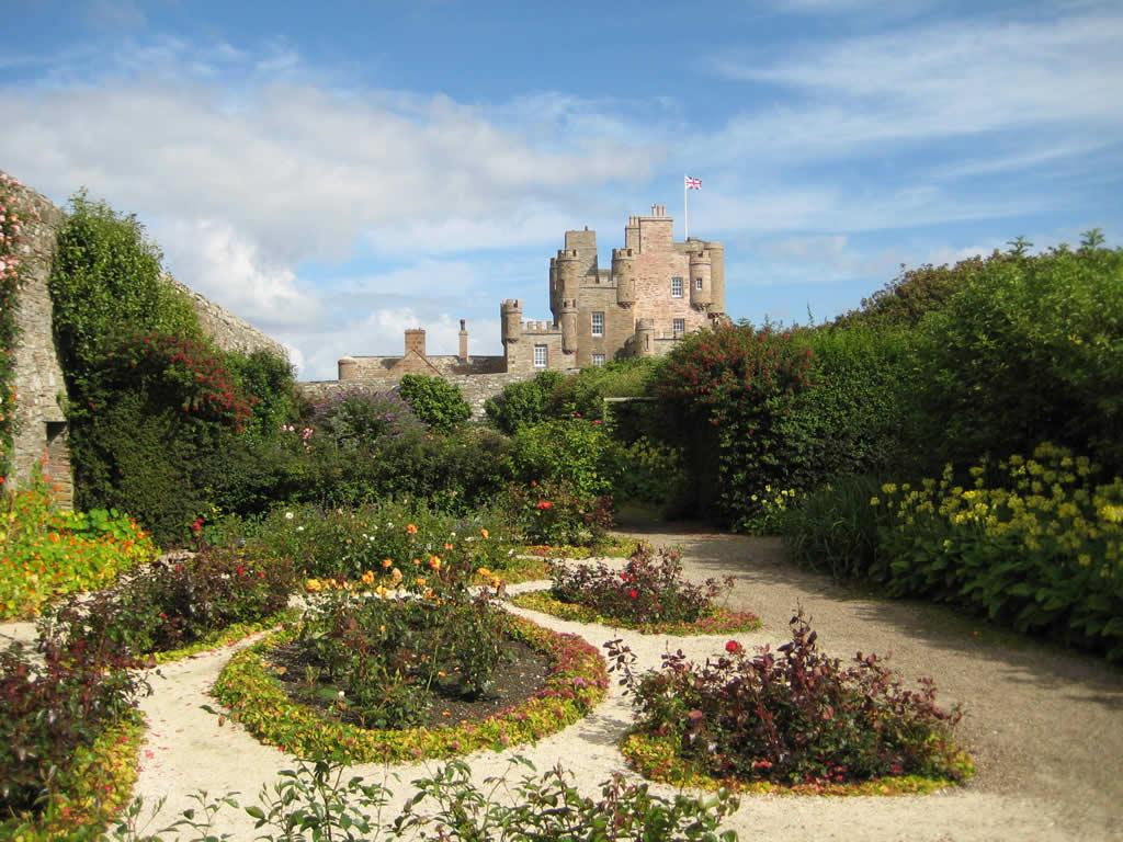 Castle of Mey in Scotland - Gardens