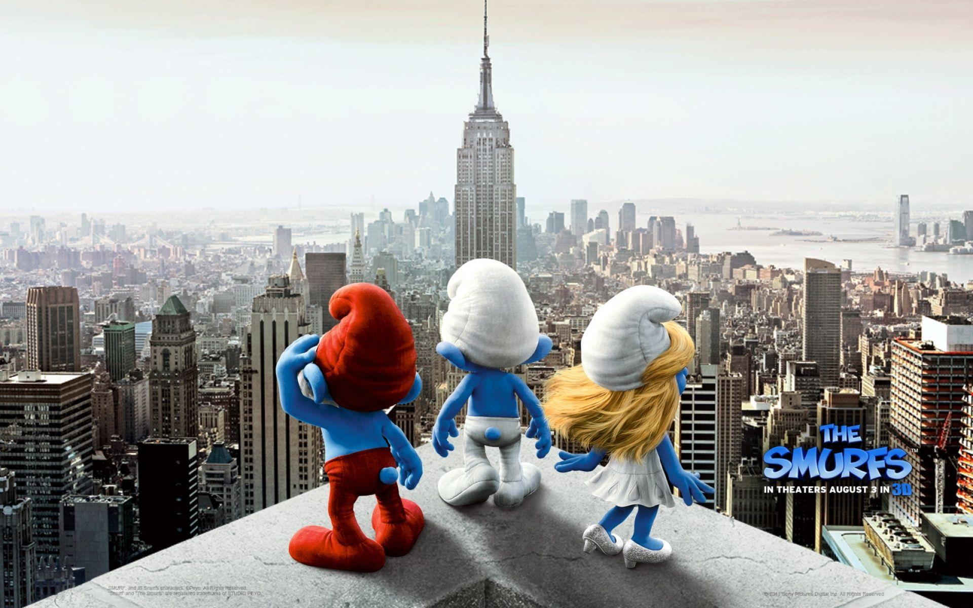 The Smurfs Movie HD Wallpaper